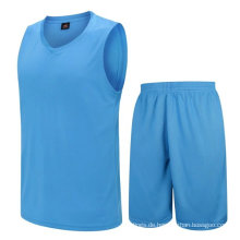 trockene Passform hohe Qualität niedrige MOQ Fabrik Versorgung Basketball Jersey neuesten Design Großhandel Basketball Uniform