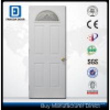 Porta de entrada de aço do ventilador Lite Prehung com vidro de segurança moderado
