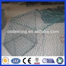 Hochwertiger Wasser- und Bodenschutz PVC-beschichteter verzinkter Mesh-Gabion-Box