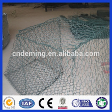 High quality water and soil protection PVC coated Galvanized mesh gabion box