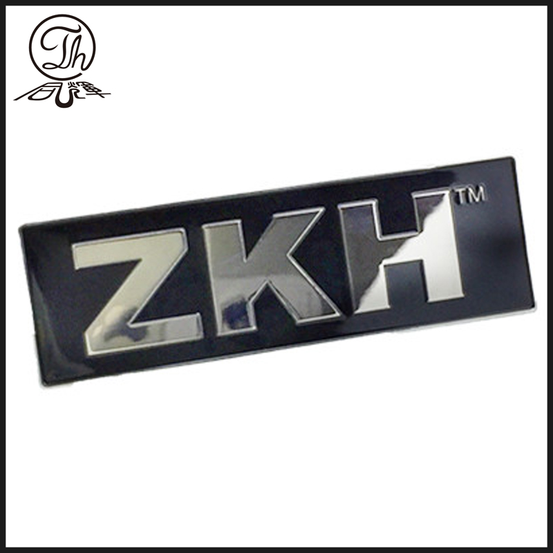 Custom Laser logo plate designs metal