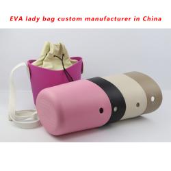 Custom EVA Rubber Beach Bag with PU handle