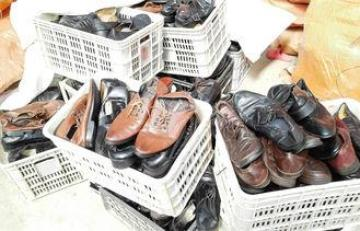 Export Used Mens Used Shoes for Africa Big Size OEM Men Lea