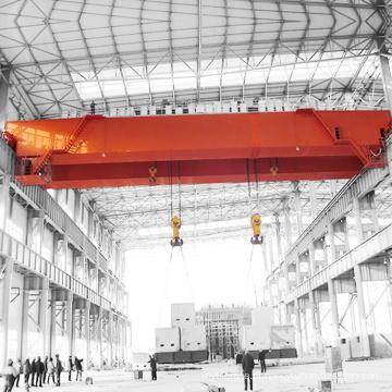 Viga dobro elétrica da eficiência elevada guindastes aéreos de 30 toneladas