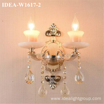 glass wall sconce chandelier wedding lighting