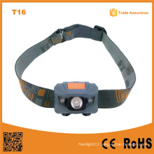 T16 New Promotion with 4 Brightness Level 2PCS Red LED + 1W High Power Red LED Headlamp for Military