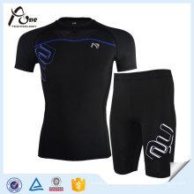 Benutzerdefinierte Sport Compression Wear Herren Fitness Wear Compression Suit