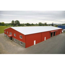 Bâtiment en acier préfabriqué en entrepôt / entrepôt de ferme (SSW-583)