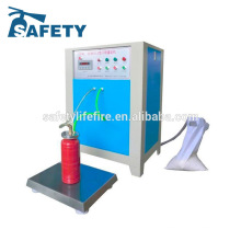 automatic powder filling machine/fire extinguisher filling machine/fire extinguisher nitrogen filling machine
