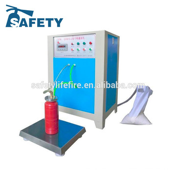 автоматическая машина завалки порошка/огнетушитель машина завалки/машина завалки огнетушителя азота