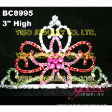 Tiara floral del desfile