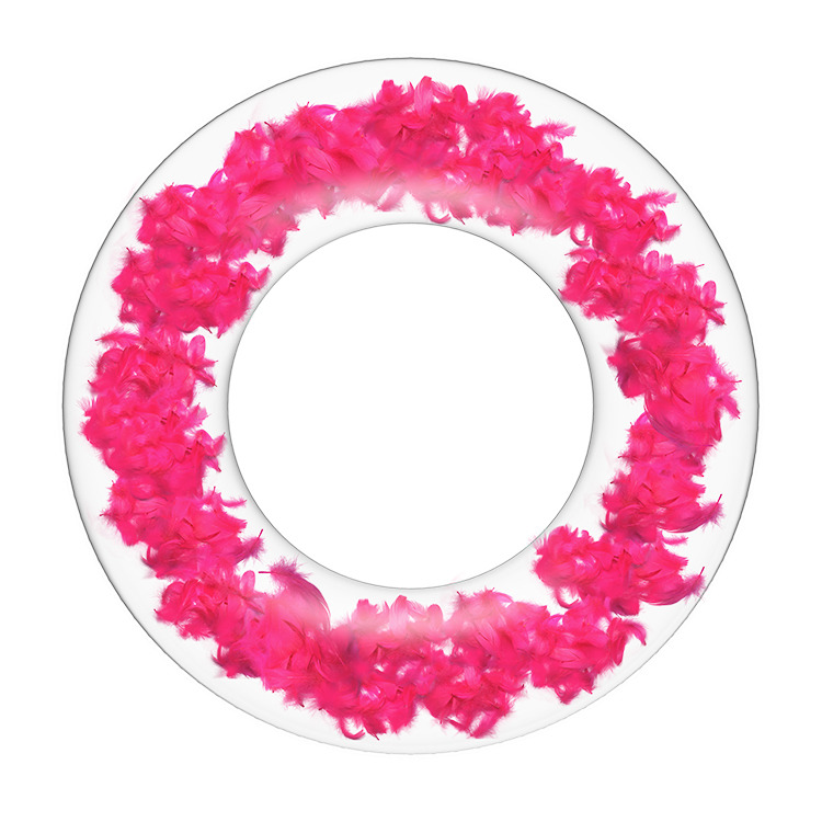 Feather Inflatable Swim Ring Float