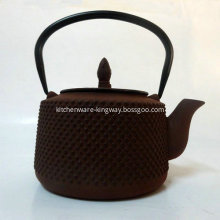 Enamel Cast Iron Teaset - Teapot/Tea Kettle