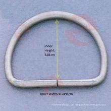 D-Ring (D1-4S - 8 # x4.7498x3.81cm)