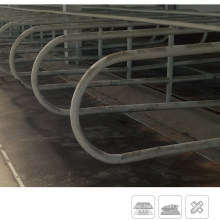 1.22X1.83m Heavy Duty Black Stall Horse Matting SBR Rubber Stable Agricultural Cow Floor