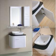 Gabinete de banheiro moderno pvc de parede de alta qualidade