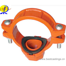Ductile Iron Grooved Fitting Mechanical Tee