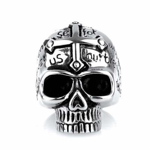 Jesus skull ring