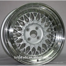 hot-sell BBS r17 silver disk | 4/5/8/9/10 holes |PCD: 100-120