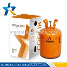 Producto caliente Y del refrigerant 2015 del refrigerante r407c del refrigerante del acondicionador de aire del aire acondicionado de la venta al por mayor de la venta