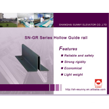Hollow Guide Rail for Elevator (SN-GR)