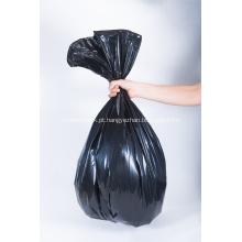 Saco de lixo forte resistente plástico