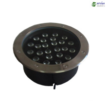 Lumière souterraine de LED avec la lumière extérieure