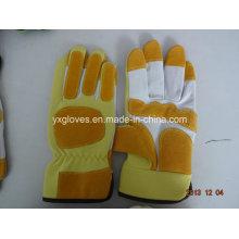 Lederhandschuh-Industriehandschuh-Sicherheitshandschuh-Arbeitshandschuh-Handschuh-Billighandschuh