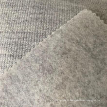 Tissu polaire poly laine arcylic
