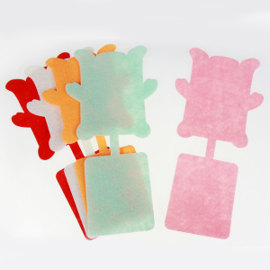 Felt square diecut crafting pieces