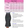 """Kate Kasin Occident Women's OL High Stretchy Hips-Wrapped Split back Short White Pencil Skirt 27"""" KK000274-2"""