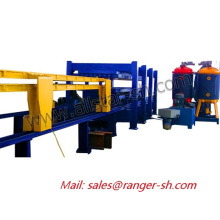 Discontinuous PU Sandwich Panel Roll forming machine in excellent quality