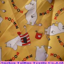 Tela impresa de Taslon del poliéster para la ropa con prenda impermeable