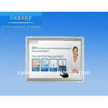 12 inch open frame touch screen for retail display