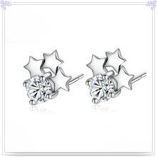 Schmucksache-Art- und Weisesilberne Schmucksachen 925 Stelring silberner Ohrring (SE024)