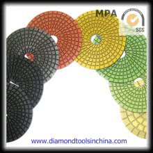 Diamond Convex Polierpads für Marmor Granit