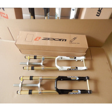 zoom downhill mountain biking 20MM cylinder shaft fork DH reverse blanking shoulders shockproof oil springs, disc brakes