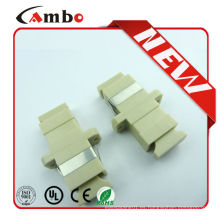 Muestra libre de alta calidad Simplex SC Adaptador de fibra óptica