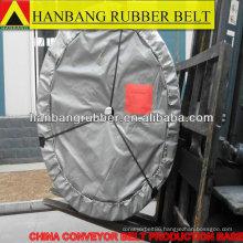 Rubber chevron conveyor belt EP315/5PLY5+2