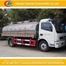 4 * 2dongfeng Hitzebewahrung Frische Milch Tankwagen / Frische Milch Transportwagen / Flüssige Lebensmittel Transport Tankwagen