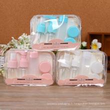 Bouteille en plastique de jet d'emballage cosmétique d'animal familier de Whosale 30ml (PT09)
