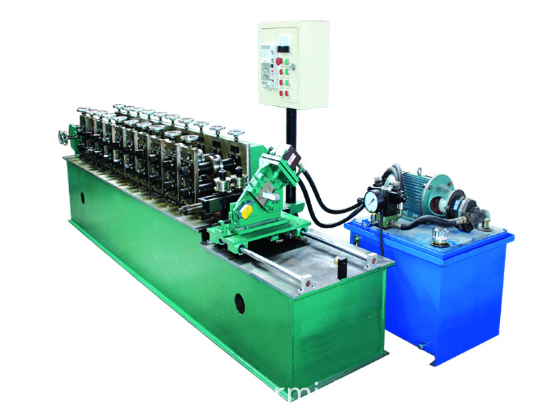 Automatic Drywall U Channel Forming Machine