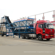 CE Certificate Yhzs35 Mobile Cement Concrete Batching Mixing Plant Machine