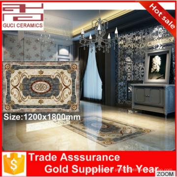 Telha do tapete de porcelana espanhola de tamanho grande