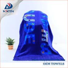 100% Cotton Custom Promotional Velour Reactive Printed Beach Towel 100% Cotton Custom Promotional Velour Reactive Printed Beach Towel