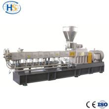 Extrusora de parafuso duplo para modificação de borracha de plástico PP