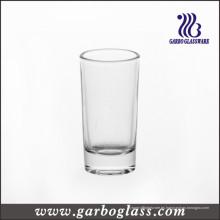 Vidrio de disparo / vaso cilíndrico / taza de vidrio (GB070202H-1)