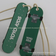 Cute Skateboard-shaped Kids Hang Tags for Garment/Bags/Gift, Adorable!!