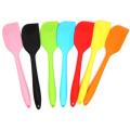utensilios de cocina forma de cuchillo espátula de silicona para crema