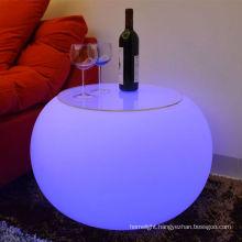 Modern living room mini bar furniture Design LED Furniture for bar nightclub furniture led flash lighting table